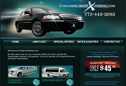 Chicago Limo Web Design