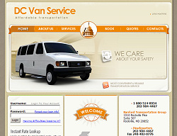 DC Limo Website Design