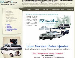 Philadelphia Limo Website Design