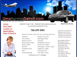 Detroit Limo Website Design