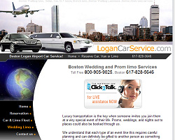 Boston Limo Website Design