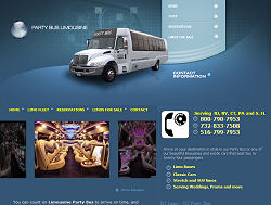 New York Limo Website Design