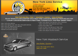 TriStar Limo Website Design